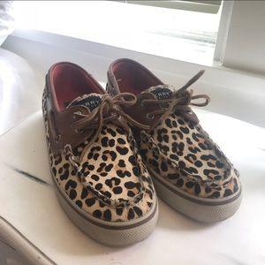 Leopard Print Sperry's